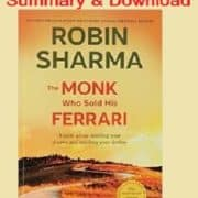 A Monk Who Sold His Ferrari Pdf