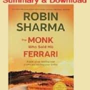 A Monk Who Sold His Ferrari Pdf