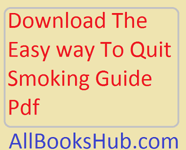 easy way to quit smoking pdf