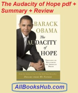 The Audacity of Hope pdf