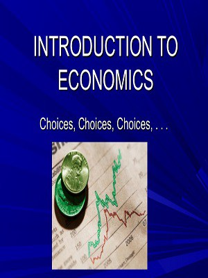 Introduction to Economics Pdf