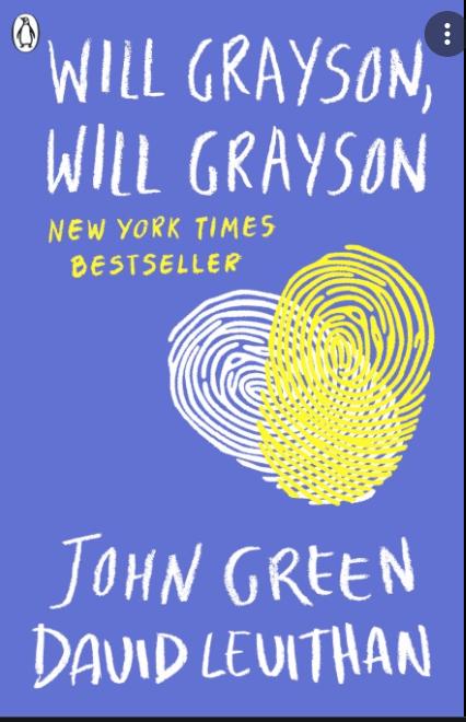 Will Grayson, Will Grayson PDF